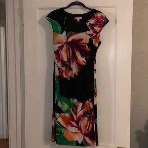 DB floral cocktail dress